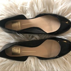 Dolce Vita Black Flats 8.5 GOOD CONDITION ✨